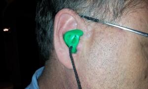 Improper Earplug Insertion - View 1