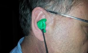 Improper Earplug Insertion - View 2